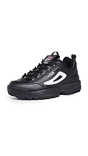 Fila Mens Disruptor Ll Premium Sneaker, Black Multi, Size 12.0 ()