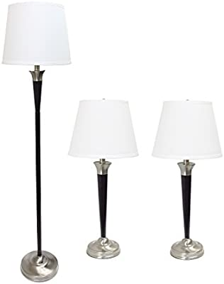 Amazon.com: Diseño elegante Malbec de mesa y lámpara de piso ...
