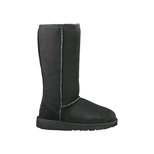 Kids Ugg Classic Tall Boots (UGG Australia Kids Classic Tall Boots - Black, Size 6)
