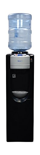 NewAir WAT30B Pure Spring BPA Free Hot & Cold Water Dispenser, Black
