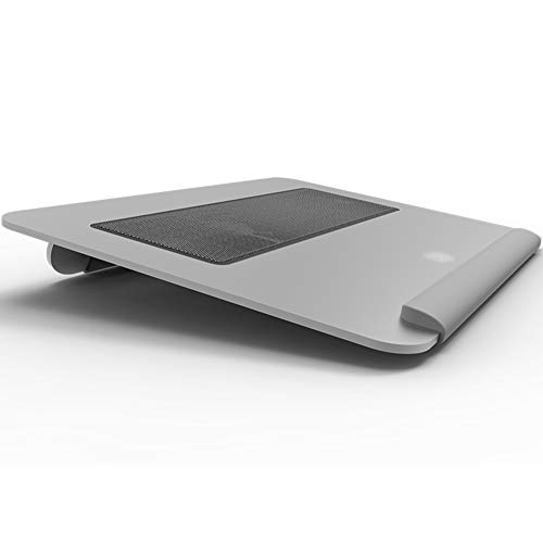 Ho,ney Laptop Cooler - Folding Portable Wear-Resistant Anti-Slip, Double 8cm Silent Fan for 15 Inches Or Less -1053 Notebook Cooler by Ho,ney (Image #1)