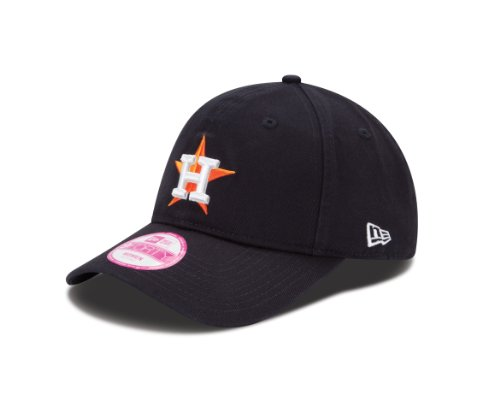 New Era MLB Houston Astros Women's Essential 9Twenty Adjustable Cap