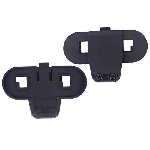 Headphone /& Clip Set Accessorio per T-COMVB e T-COMSC Series Casco per moto Bluetooth Interphone Citofono per moto FreedConn Microphone
