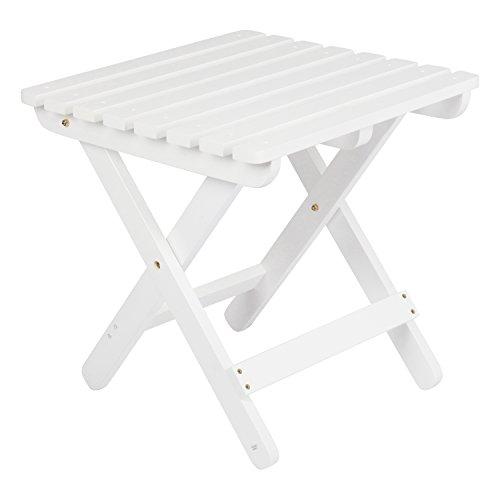 Sunnydaze Black Mesh Patio Side Table, 23 x 16 Inch – 1 Table