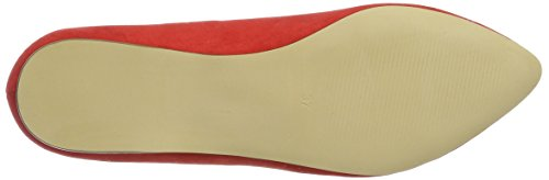 Bianco Spitzer Loafer - Mocasines Mujer Rot (Red)