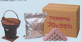 TEMPO block fuel 25g x 320 or one person for the pot (for business) 0386 SPOSPO by Tempo