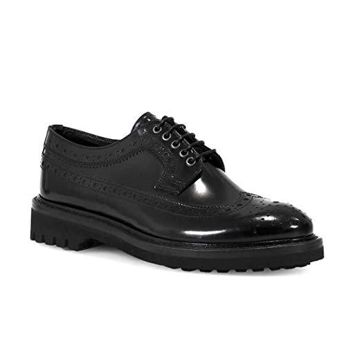 Negro Bd0681 Zapatos Cuero Mujer Barracuda HEFqBH