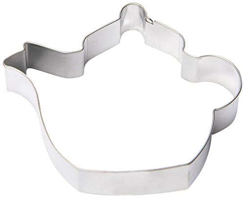 Fox Run 2352 Teapot Cookie Cutter, 3-Inch, Stainless Steel