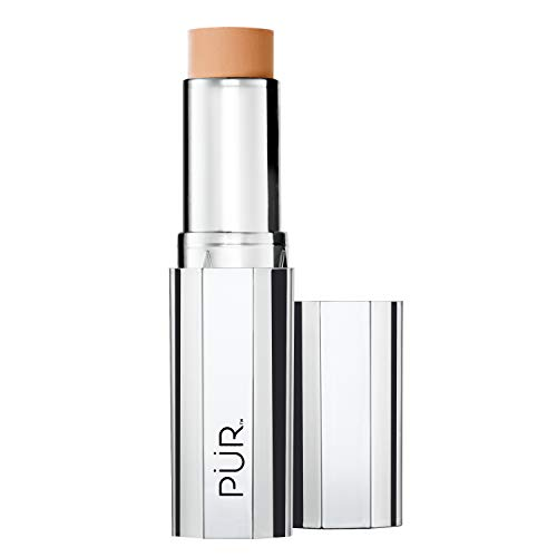 PÜR 4-in-1 Foundation Stick in Light Tan, 1 Ounce