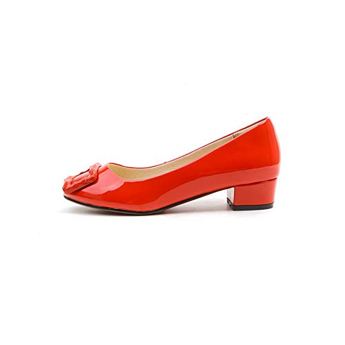 5 Red Femme Sandales Compensées 36 Rouge Apl11059 Balamasa nv6q0BXw