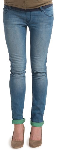 ESPRIT Slim Fit - Pantalón slim para mujer Lightwash 950