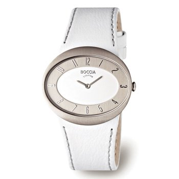 Boccia Trend 3165-02 Ladies Watch with Leather Strap