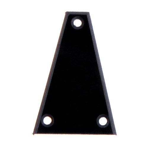 Kmise A8187 Black Plastic Electric Guitar Truss Rod Cover