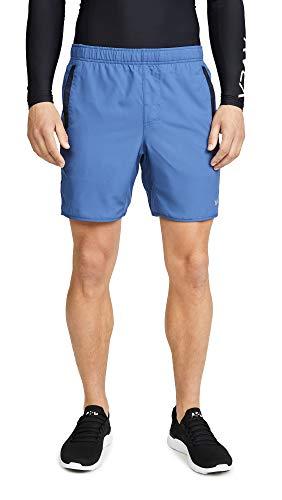 (RVCA Men's Yogger Short, Seattle Blue,)