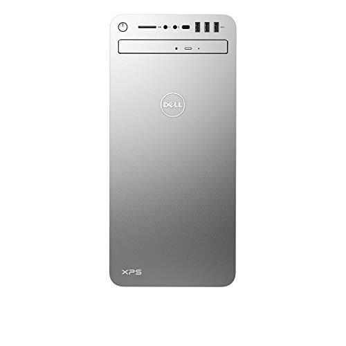 Dell XPS 8930 Special Edition Tower Desktop – 8th Gen Intel Core i7-8700 6-Core Processor, 16GB Memory, 1TB SSD + 1TB Hard Drive, 4GB Nvidia GeForce GTX 1050Ti, DVD Burner, Windows 10, Silver