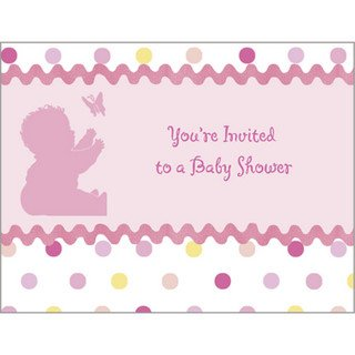 Tickled Pink Invitations ()