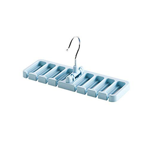 MOPOLIS Waist Belt Space Saver Multifunction Non-slip Hook Storage Rack Hanger Holder | color - Blue