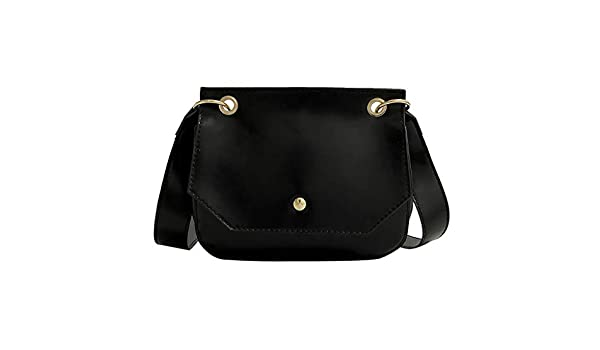 Silver UMei 2019 Messenger Bag for Women Single Shoulder Bag Ladies Girls Leather Trendy Chain Crossbody Bag Messenger Tote