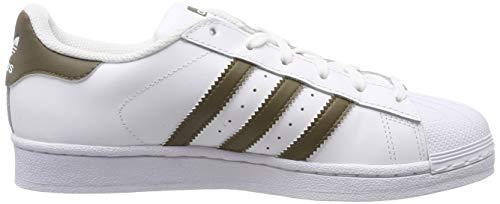 Adidas Bianco Oliv Corsa Scarpe Weiß weiß Superstar Oliv Uomo Da fvCf1cxpwq