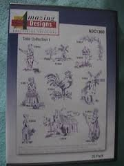Amazing Designs Embroidery Solutions: Toile Collection I