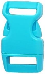 Steckschnalle Verschluss Klickschnalle Klickverschluss Paracord Armband Rucksack 10 St/ück, Tropen Dunkel