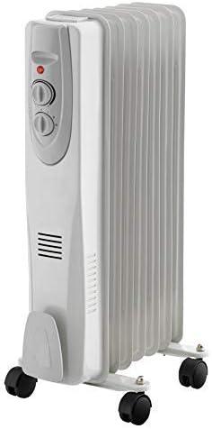 Radiador de Aceite termostato Ajustable 3 potencias (hasta 1500W): Amazon.es: Electrónica
