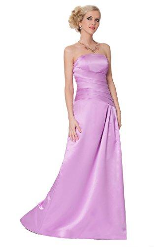 noche formal de SEXYHER entero damas Lightorchid sin tirantes EDJ1617 de las honor Encuadre Gorgeous cuerpo de vestido de 6qwvf6Z