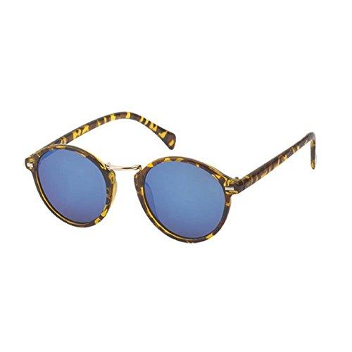 Chic-Net Gafas de sol redondas Panto 400 espejo UV ...