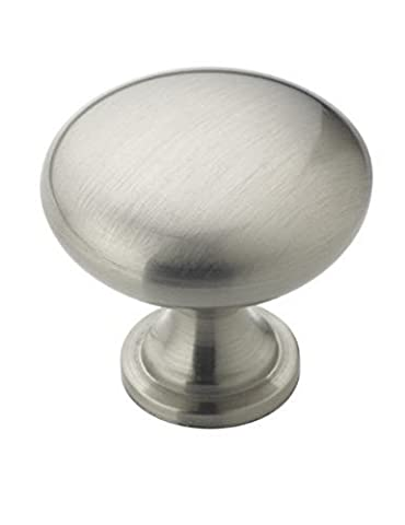 Amerock BP53005G10 Allison Value 1-1/4in(32mm) DIA Knob - Satin Nickel - 25 Pack