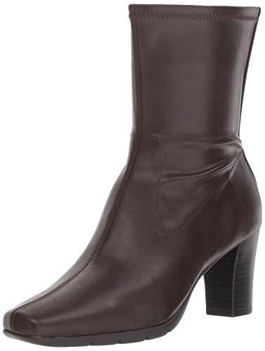 (Aerosoles Women's Persimmon Mid Calf Boot, Brown, 7.5 M US )
