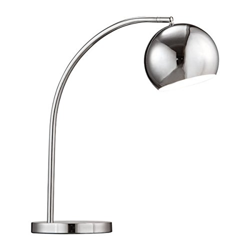 Zuo 50003 Solaris Table Lamp, Chrome