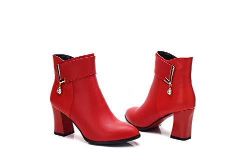 Donna 1to9 Eu Zeppa Mns03373 Sandali 35 Con red Rosso I7qIw