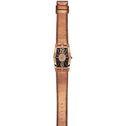 Charmex Nizza 6078 28.5x38.5mm Diamonds Stainless Steel Case Calfskin Synthetic Sapphire Women's Watch