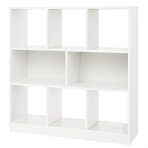 Amazon.com: VASAGLE Wooden Bookcase Open Cubes Shelves