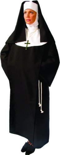 [Alexanders Costumes Sister Sara, Black, One Size] (Deluxe Nun Costumes)
