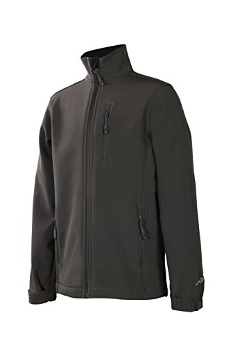 Trailside Supply Co. Big Boy's Softshell Zip-Front Fleece-Lined Jacket