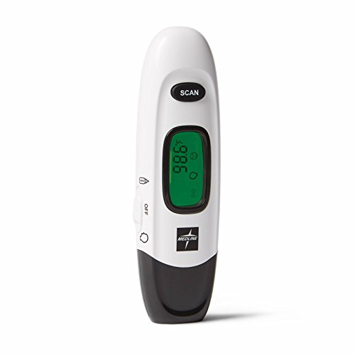 Medline No Touch Infrared Forehead Thermometer (Best No Touch Thermometer)