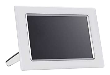 philips 102 inch lcd digital photo frame with 94 inch display white