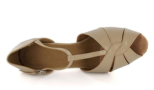 MGM Mujer Heel Beige Leather Joymod Y Jazz Contempóraneo 8cm rvPwvI
