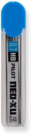 12 Per Tube -60009 60mm Length Pilot 0.7mm Mechanical Pencil Refills HB Leads