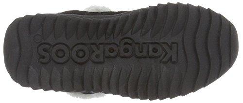 KangaROOS Unisex-Kinder Cupy Schneestiefel Schwarz (black 500)