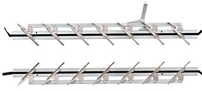 24'' Jalousie Strip Hardware - 7 Blades by C.R. Laurence (Image #2)