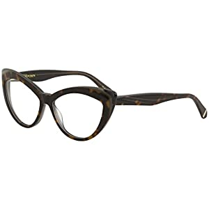 Zac Posen Women's Eyeglasses Verushka HV Havana Full Rim Optical Frame 54mm