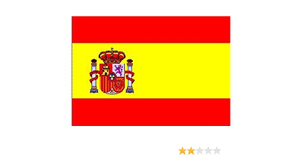 Top Calidad - Bandera España espagnia Spain Bandera, 250 x 150 cm ...