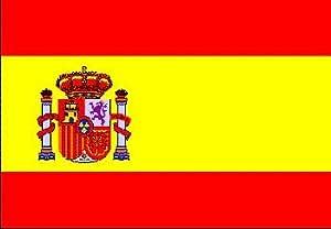 Top Calidad - Bandera España espagnia Spain Bandera, 250 x 150 cm, EXTREMADAMENTE RESISTENTE, no es un producto barato de china, Peso de la tela aprox. 100 g/m²: Amazon.es: Hogar
