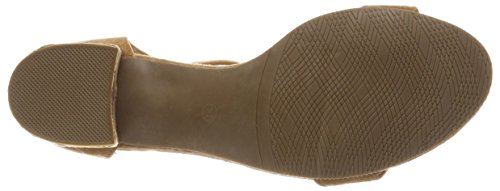 Marrón con de Camel Refresh 64332 Tira Mujer para Tobillo Zapatos TxxI81