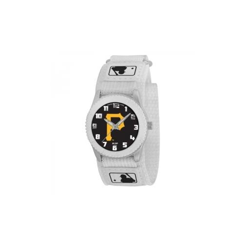 (Pittsburgh Pirates Game Time Rookie White Watch P Logo )