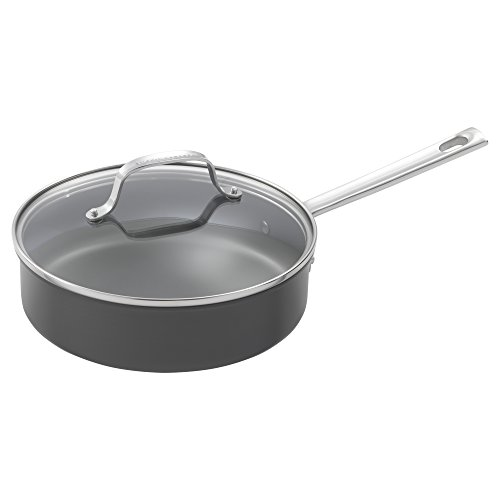 Emeril Lagasse 62920 Dishwasher safe Nonstick Hard Anodized 12 Piece Cookware Set ,Gray by Emeril Lagasse (Image #9)