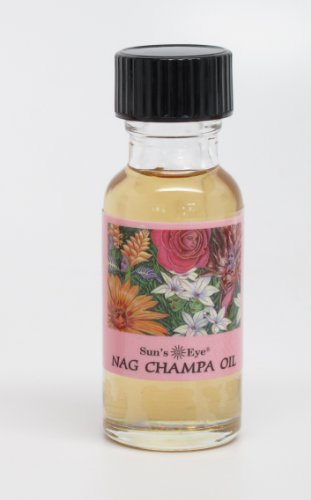 Sun's Eye Specialty Oil, Nag Champa - incensecentral.us