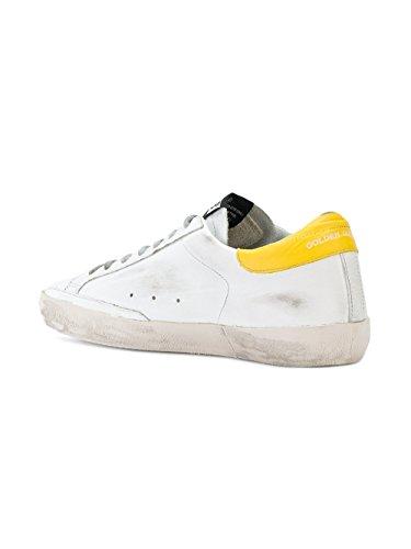 GOLDEN GOOSE Hombre G32MS590E83 Blanco Cuero Zapatillas